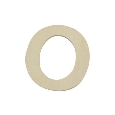 株式会社光 PSB40-O 木製文字 英O