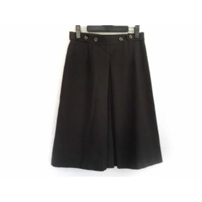 アリスバーリー Aylesbury スカート サイズ9 M レディース ブラウン【中古】