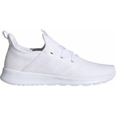 アディダス レディース スニーカー シューズ adidas Women's Cloudfoam Pure Shoes White/White/White