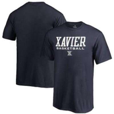 Fanatics Branded ファナティクス ブランド スポーツ用品  Fanatics Branded Xavier Musketeers Youth Navy True Sport Basketball T-Shi
