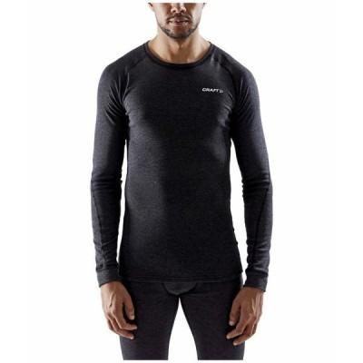 クラフト シャツ トップス メンズ Core Wool Merino Set Black Melange