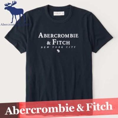 アバクロンビー&フィッチ プリントTシャツ 半袖 メンズ 刺繍ロゴ 丸首 XS~XXL 新作 アバクロ