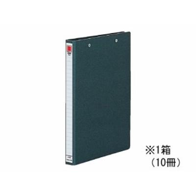 スプリングファイル(両天とじ) A4タテ とじ厚20mm 黒 10冊 コクヨ フ-120