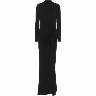 トム フォード Tom Ford レディース パーティードレス ワンピース・ドレス Long-sleeved gown Black