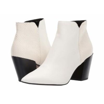 ドルチェヴィータ レディース ブーツ&レインブーツ シューズ Aden White Sliced Leather