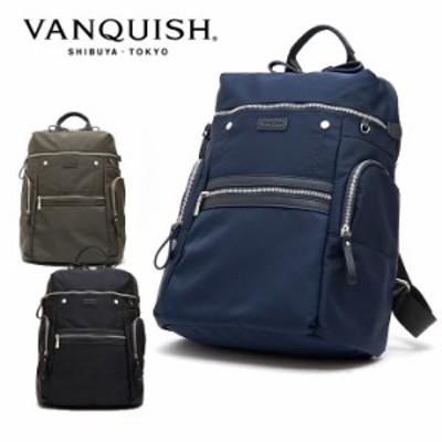 【レビューを書いてポイント+5%】ヴァンキッシュ リュック メンズ VQM-41500   VANQUISH バックパック ビジネスバッグ プレゼント 男性