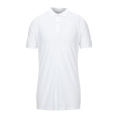 SUNSTRIPES ポロシャツ ホワイト L コットン 100% ポロシャツ