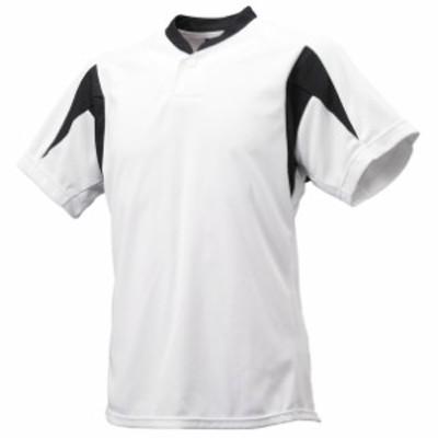 ジュニア1ボタンベースボールTシャツ 【SSK】エスエスケイ (BT2300J)