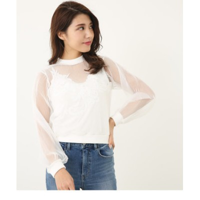 Sheer IN LaceキャミTOP