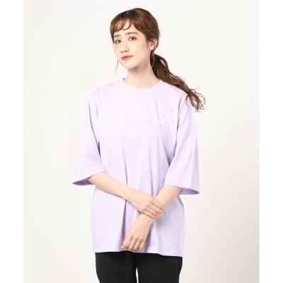 tシャツ Tシャツ PUMA プーマ W CL ルース Tシャツ 599579 16L.LAVENDER