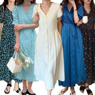 5月更新 韓国のファッション  ロング ワンピース  ドレスセーター/最安值挑战ワンピース女性大人気レデイースファッション幅広くしっかり体型カバー