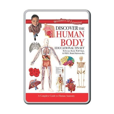 Wonders of Learning The Human Body 教育缶セット