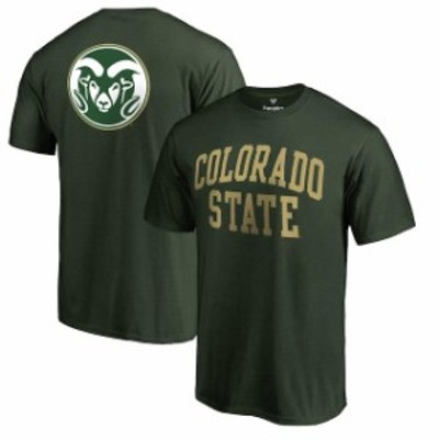 Fanatics Branded ファナティクス ブランド スポーツ用品  Colorado State Rams Hunter Green Primetime T-Shirt