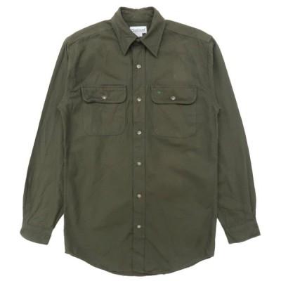 カーハート CARHARTT ワークシャツ 長袖 オリーブグリーン サイズ表記:S
