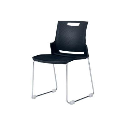 スタッキングチェア 送料無料 カラフル シンプル 会社 椅子 イス デスクチェア オフィスチェア パソコンチェア オフィス家具 ミーティングチェア 9315GB-F