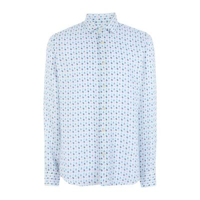 ドルモア DRUMOHR シャツ ホワイト S リネン 100% シャツ