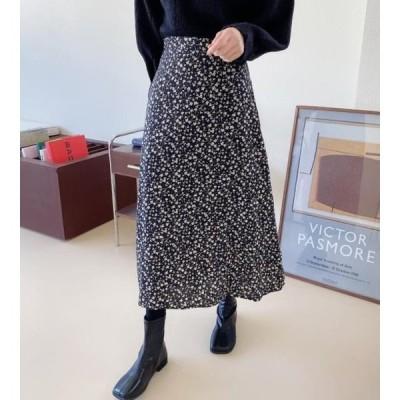 monodaily レディース スカート Way Flower Skirt