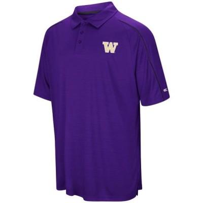 メンズ スポーツリーグ アメリカ大学スポーツ Washington Huskies NCAA Setter Men's Performance Polo Shirt ポロス