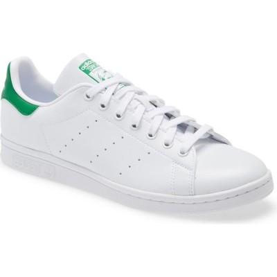 アディダス ADIDAS メンズ スニーカー ローカット スタンスミス シューズ・靴 Stan Smith Low Top Sneaker White/White/Green