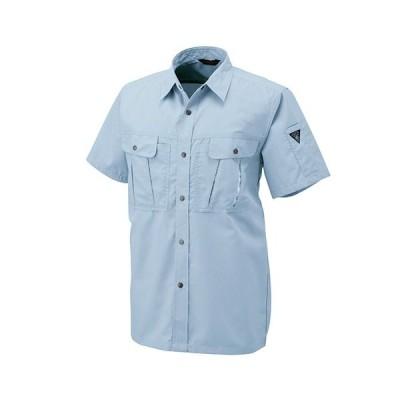 アルトコーポレーション 半袖シャツ トロピカル ライトブルー Sサイズ JP−160−6−S 1着 (メーカー直送・代引不可)