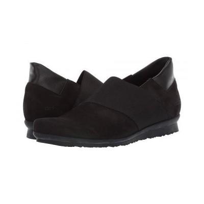 Arche アルシュ レディース 女性用 シューズ 靴 ローファー ボートシューズ Barska - Noir