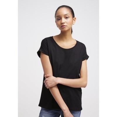 ヴィラ Tシャツ レディース トップス VIDREAMERS PURE  - Basic T-shirt - black