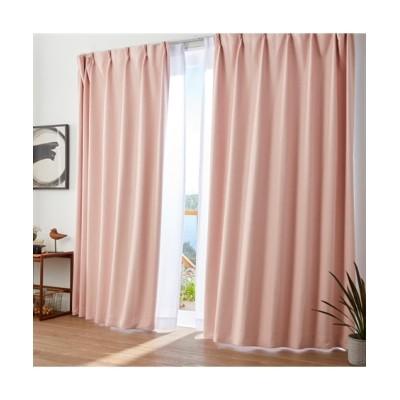 【送料無料!】全サイズ均一価格。色と柄が選べる遮光。形状記憶カーテン ドレープカーテン(遮光あり・なし) Curtains, blackout curtains, thermal curtains, Drape(ニッセン、nissen)