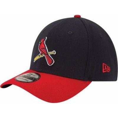 ニューエラ メンズ 帽子 アクセサリー New Era Men's St. Louis Cardinals 39Thirty Alternate Classic Navy Stretch Fit Hat