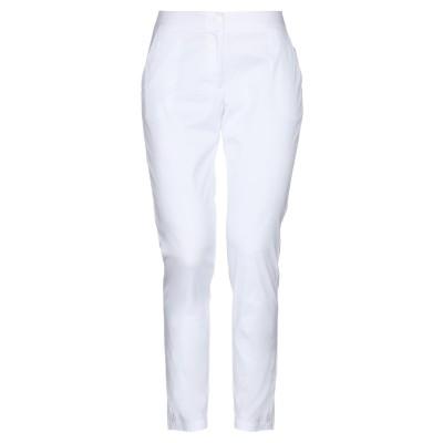 ツインセット シモーナ バルビエリ TWINSET パンツ ホワイト XS コットン 76% / ナイロン 21% / ポリウレタン 3% パンツ