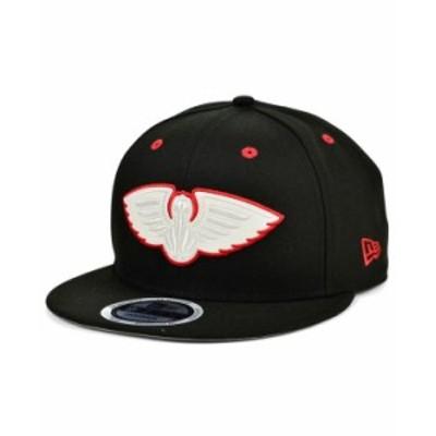 ニューエラ メンズ 帽子 アクセサリー New Orleans Pelicans Color Fade 9FIFTY Cap Black