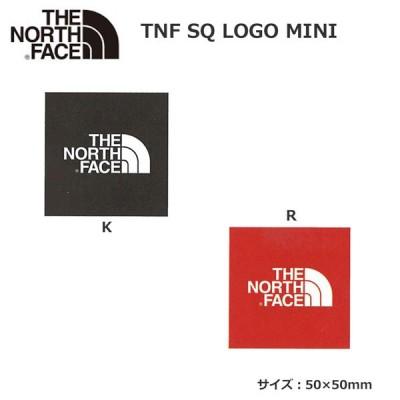 ザ ノースフェイス TNF スクエアー ロゴ ステッカー ミニ THE NORTH FACE TNF SQ LOGO MINI NN32015 メール便配送