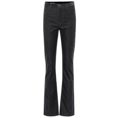 ロロピアーナ Loro Piana レディース ボトムス・パンツ Rodger high-rise flared corduroy pants Black