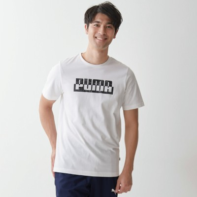 おしゃれロゴプリント!メンズ CAMO グラフィックTシャツ(プーマ/PUMA)