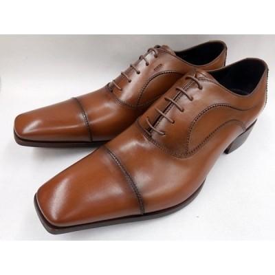 キャサリンハムネット 靴 メンズ ストレートチップ ビジネスシューズ 31594(ブラウン)