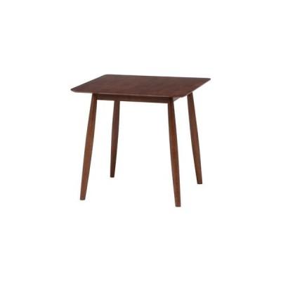 ds-2332765 ダイニングテーブル  ブラウン 幅75×奥行75×高さ73cm (ds2332765)