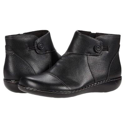 クラークス Ashland Holly レディース ブーツ Black Leather