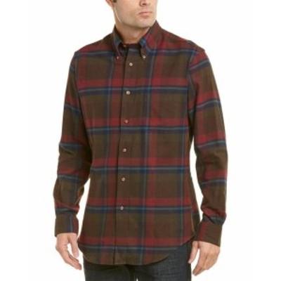 brooks ブルックス ファッション ドレス Brooks Brothers Woven Shirt S Red