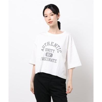 tシャツ Tシャツ フロントカレッジロゴプリントS/T