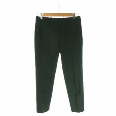 【中古】ザラウーマン ZARA WOMAN パンツ テーパード アンクル 36 緑 グリーン /AH9 ☆ レディース