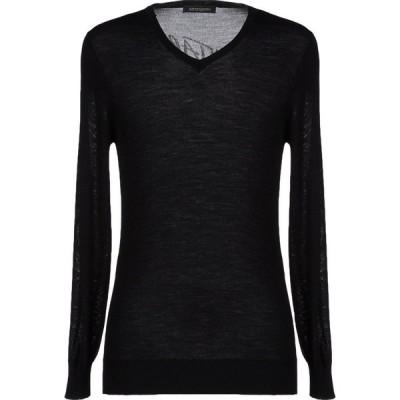 エルマンノ シェルヴィーノ ERMANNO DI ERMANNO SCERVINO メンズ ニット・セーター トップス Sweater Black