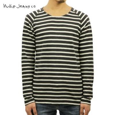 ヌーディージーンズ ロンT メンズ 正規販売店 Nudie Jeans 長袖Tシャツ Otto Raglan 131395 4034 Grey D15S25