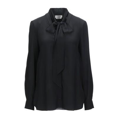 アレキサンダー マックイーン ALEXANDER MCQUEEN シャツ ブラック 38 シルク 100% シャツ