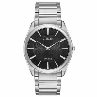シチズン 腕時計 Citizen AR3070-55E メンズ Stiletto Black Eco-Drive エコドライブ Watch
