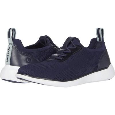 コールハーン Cole Haan レディース スニーカー シューズ・靴 Zerogrand Global Trainer Marine Blue Knit/Ether/Optic White