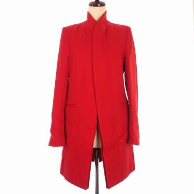 【中古】未使用品 アンドゥムルメステール 19AW COAT ELIOT ウール コート ジャケット 長袖 34 レッド 赤 1902-1130-204-039 レディース 【ベクトル 古着】