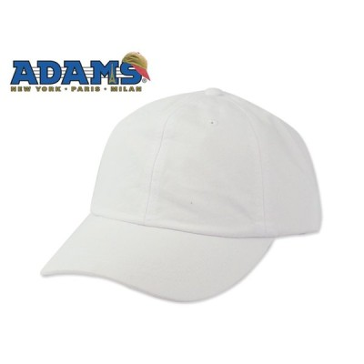 ☆ADAMS【アダムス】OPTIMUM-SOLID PIGMENT CAP WHITE ソリッド ピグメント キャップ ホワイト 14575 [2016 メンズ レディース ストリート]