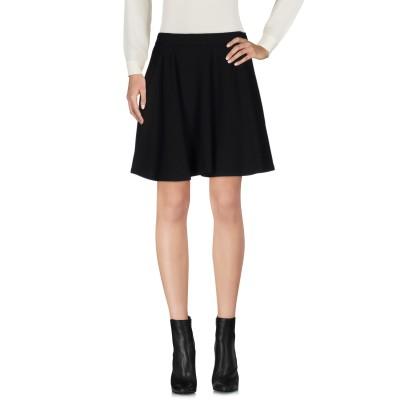 ブルネロ クチネリ BRUNELLO CUCINELLI ミニスカート ブラック 42 バージンウール 82% / ナイロン 18% ミニスカート