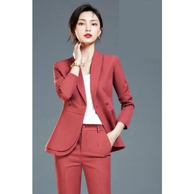 レディーススーツ 上下スーツ OL通勤 面接  ビジネス オフィス フォーマル  七五三入学式/入社/卒業式 長袖