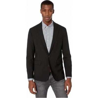 コールハーン Cole Haan メンズ コート スリム アウター Slim Fit Suit Separate Coat Black
