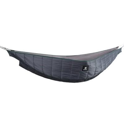 OneTigris ハンモック式寝袋 ハンモックに取り付け アンダーキルト 防寒用 キャンプ (2人用-グレー)